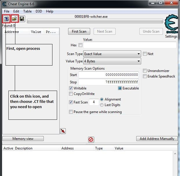 how to open ct files cheat engine download
